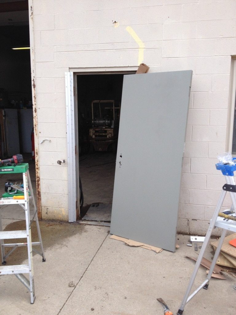 New Door to be Installed<br> New door to be installed