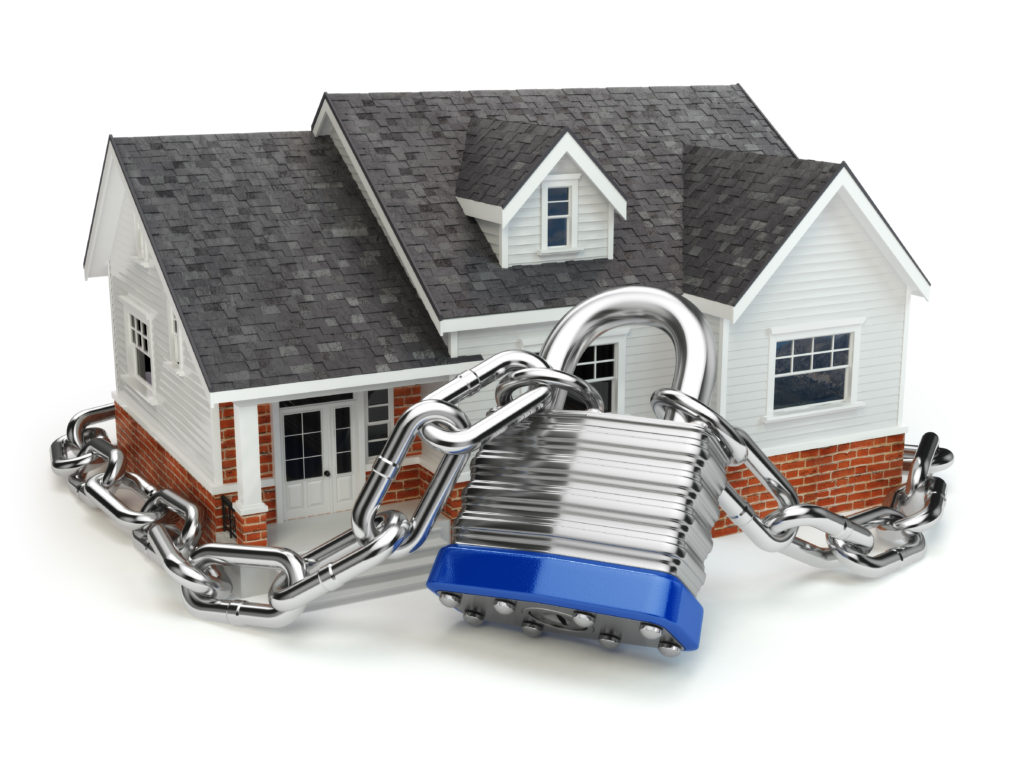 house around lock